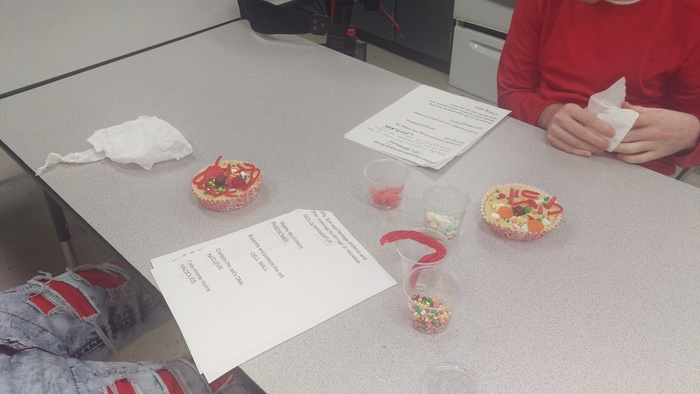 learning about cells with edibles